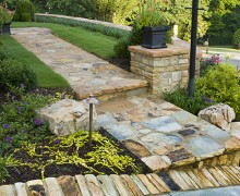 Paver & Stone Walkways