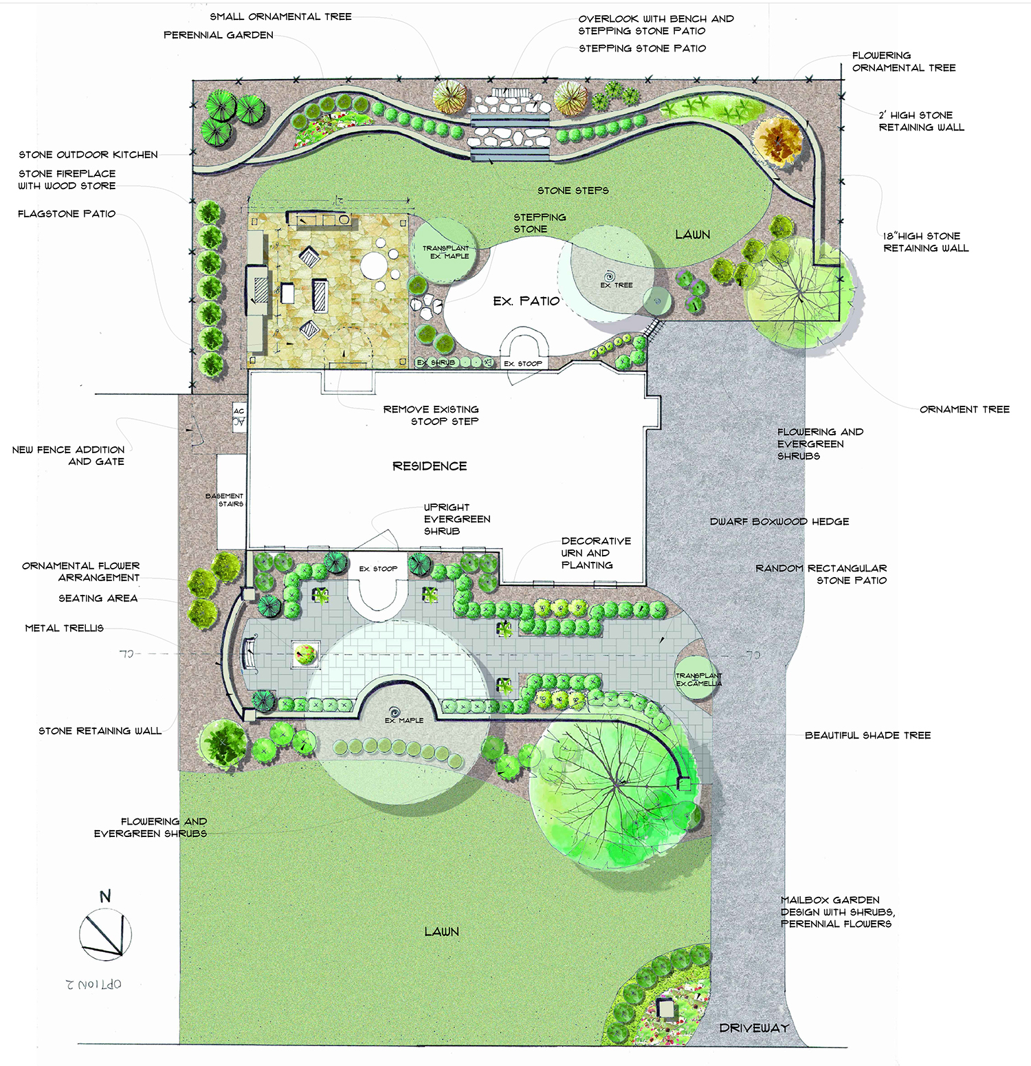 Landscape Design Services - Landscape design plans